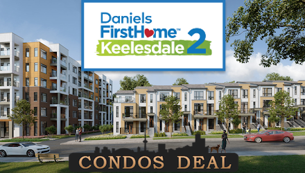 Daniels FirstHome Keelesdale 2 Condos & Towns