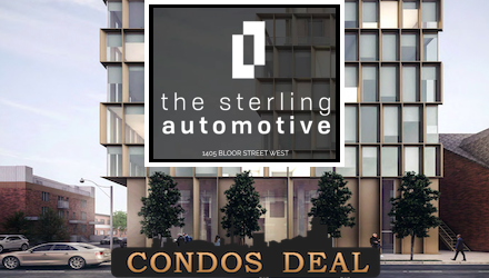 The Sterling Automotive Condos